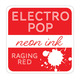 Rina K Designs Electro Pop Inks, Raging Red