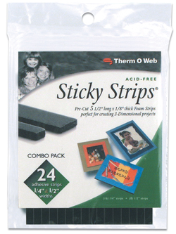 Sticky Strips - Black picture