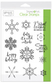 Gina K. Designs StampnFoil Stamp Set, Baby it's Cold Outside