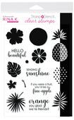 Rina K. Designs StampnStencil Stamp Set, Sending Sunshine