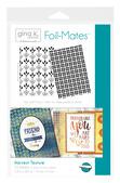 Gina K. Designs Foil-Mates Backgrounds • Harvest Texture