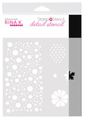 Rina K. Designs StampnStencil Detail Stencil, Sending Sunshine