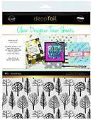 Deco Foil Clear Toner Sheets - Wilderness