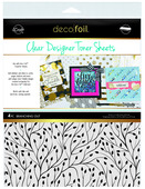 Deco Foil Clear Toner Sheets - Branching Out
