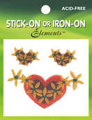 Hearts & Daisies Corner Trim (6 packs included)