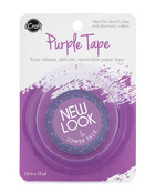 Purple Tape,1/2 in