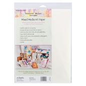 "Rebekah Meier Designs Mixed Media Art Paper 9"" x 12"" (4 sheets per pack)"