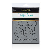 Deco Foil™ Pinwheels Stencil