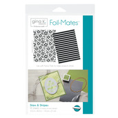 Gina K. Designs Foil-Mates™ Backgrounds • Stars & Stripes