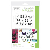 Gina K. Designs StampnFoil™ Foil-Mates Detail Sheet • Butterfly Kisses