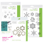 BUNDLE & SAVE Gina K. Designs StampnFoil Baby It's Cold Outside Bundle