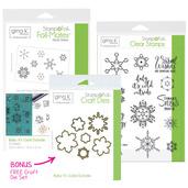 BUNDLE & SAVE Gina K. Designs StampnFoil Baby It's Cold Outside Bundle