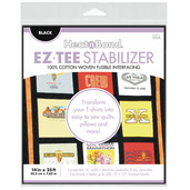 "EZ-TEE Woven Fusible Stabilizer - 14"" x 25 ft - Black"