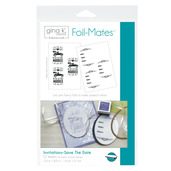 Gina K. Designs Foil-Mates™ Invitations • Save The Date