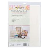 "Rebekah Meier Designs Mixed Media Foam Sheets 9"" x 12"" (2 sheets per pack)"