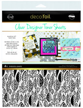Deco Foil™ Clear Toner Sheets • Endless Leaves