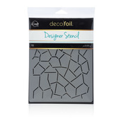Deco Foil™ Crackle Stencil