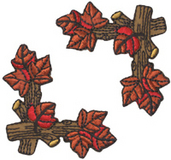 Tree Leaves & Branch - Corner Trim (6 packs included)