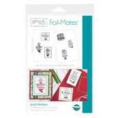 Gina K. Designs Foil-Mates™ Sentiments • Joyful Holiday