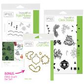 BUNDLE & SAVE Gina K. Designs StampnFoil Holly Jolly Bundle