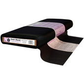 HeatnBond Ultra Soft Woven Fusible for Batik Fabrics (Black 19 ins. x By The Yard)