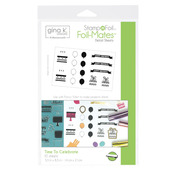 Gina K. Designs StampnFoil™ Foil-Mates Detail Sheet • Time To Celebrate