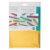 "Gina K. Designs Fancy Foils™ 6"" x 8"" • Gold Sequins"