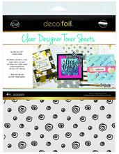 Deco Foil™ Clear Toner Sheets • Doodles