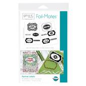Gina K. Designs Foil-Mates™ Sentiments • Festive Labels
