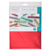 "Gina K. Designs Fancy Foils™ 6"" x 8"" • Red Velvet"