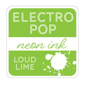 Rina K Designs Electro Pop Inks, Loud Lime