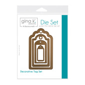 Gina K. Designs (4) Nested Tag Dies