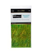 Brutus Monroe Foil Transfer Sheets - Green Sketch