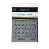 Deco Foil™ Starburst Stencil