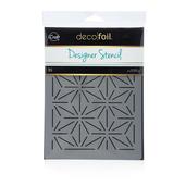 Deco Foil Starburst Stencil