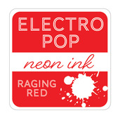 Rina K Designs Electro Pop Inks, Raging Red