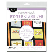 "EZ-TEE Woven Fusible Stabilizer - 60"" x 72"" - Black"