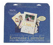 Keepsake Calender Kit (3 kits included) - Baby Theme