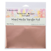 "Rebekah Meier Designs Transfer Foil 6"" x 6"" (12 sheets per pack) • New Penny"