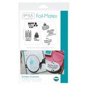 Gina K. Designs Foil-Mates™ Sentiments • Birthday Essentials