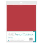 Gina K. Designs Premium Cardstock • Red Velvet
