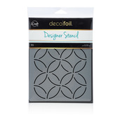 Deco Foil Abstract Circles Stencil