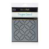 Deco Foil Abstract Circles Stencil