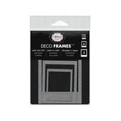 Glitter Dust™ Photo Frame Assortment-Silver