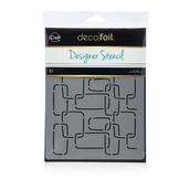 Deco Foil™ Modern Links Stencil
