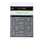 Deco Foil™ Modern Links Stencil