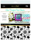 Deco Foil Clear Toner Sheets - Cobwebs & Cauldrons