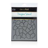 Deco Foil™ Crackle Stencil