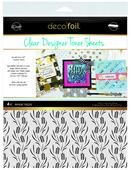 Deco Foil Clear Toner Sheets - Wheat Fields