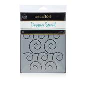 Deco Foil™ Swirls Stencil